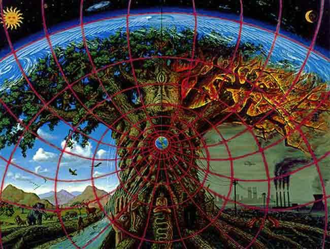 Psychedelic Spirit Paintings Alex Grey Art Gallery: Yogametaphysics